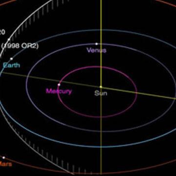 L'asteroide 1998 OR2 si avvicina alla Terra ma non è pericoloso