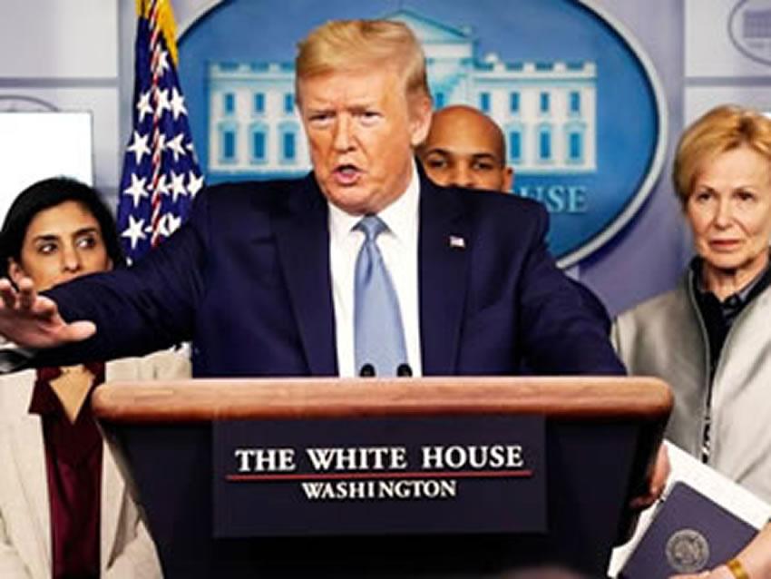 """USA: Trump attacca l'OMS: """"E' filo-cinese"""""""