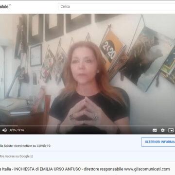 Mediaticamente: inchiesta sul Covid-19 del direttore Emilia Urso Anfuso