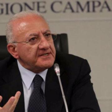 Regione Campania: Turismo e Cultura, de Luca: 'Parola d'ordine Campania Sicura'