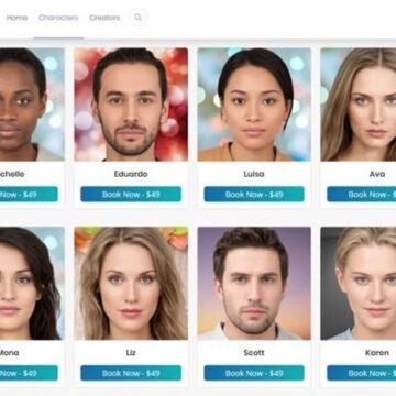 Un marketplace per personalità AI create grazie ai deepfakes