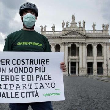 Greenpeace: sondaggio post lockdown – cosa chiedono i cittadini