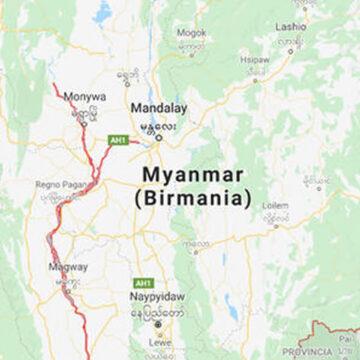 Myanmar: una frana travolge una miniera di giada, 113 morti
