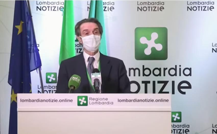 Lombardia: il governatore Fontana tra le persone indagate nell'inchiesta sui camici e i dispositivi di protezione