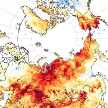 L'Artico va in fiamme…