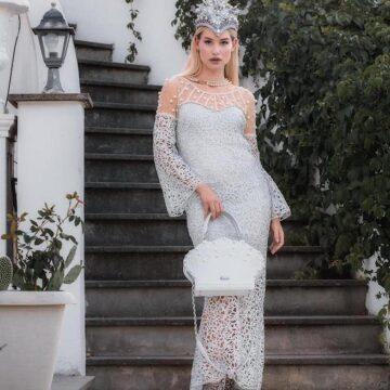 """Roma: la stilista Eleonora Altamore porta in passerella la sua preziosa collezione """"Pearl Dreams"""" aLLA XXIII^ EDIZIONE DI """"MODART E PREMIO MARGUTTA 2020"""""""
