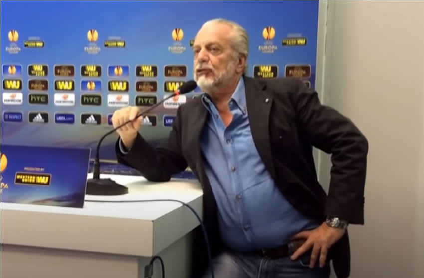Calcio – Aurelio De Laurentis positivo al Covid-19