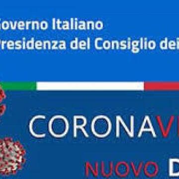 Covid19:Il nuovo DPCM tra conferme e novità in vigore dal 16 gennaio