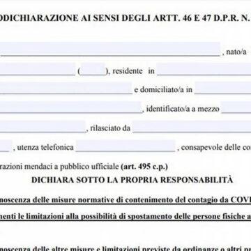 Il Tribunale di Reggio Emilia annulla una condanna per falsa autocertificazione