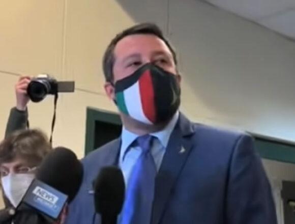 """Covid – Salvini: """"Su riaperture siamo a metà dell'opera"""""""
