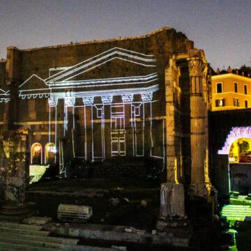 """Riparte """"Viaggi nell'antica Roma"""" – spettacolo multimediale all'aperto per rivivere la storia del Foro di Augusto"""