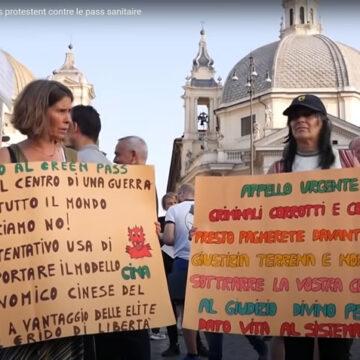 Visti da Fuori – Dissenso italiano a vaccini e Green Pass