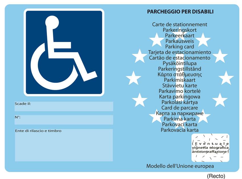 Contrassegno unico disabili europeo: dopo 23 anni finalmente arriva la semplificazione